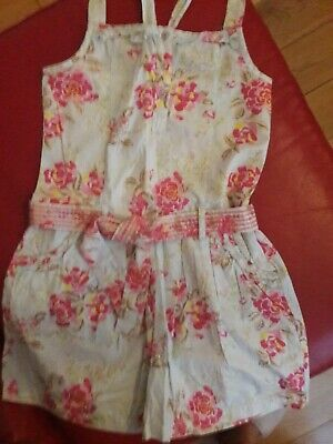 M&S Indigo Collection Girls Playsuit Age 10 Yrs