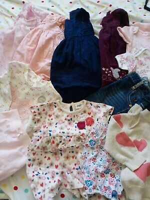 Bundle Baby Girls Clothes Age 6-9 Months