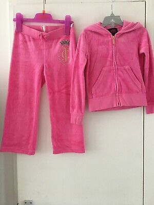 Juicy Couture Tracksuit Girls Age 4-5 Years