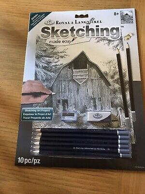 "Royal & Langnickel Sketching Made Easy Set""old Country Barn"""