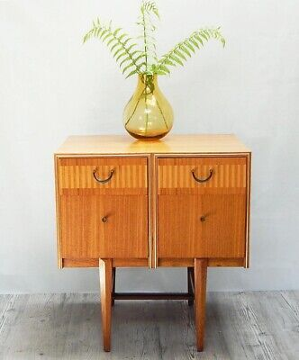 VINTAGE RETRO MID CENTURY 1960s CHEST OF DRAWERS SIDEBOARD CABINET