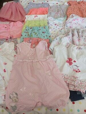 Baby Girls Clothes Bundle Age 9 To 12 Months.