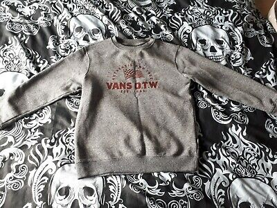 Vans Off The Wall Boys Jumper Large