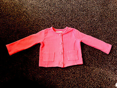 Next Girls Pink Jacket. Age 2-3yrs.