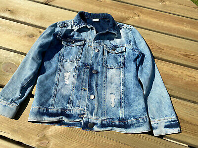 Girls Denim Jacket Age 8 - 9 Years