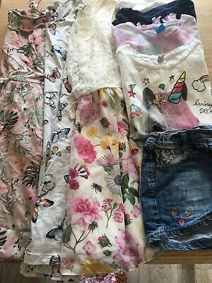 Girls Summer Clothes Bundle, Size 10-11 Years