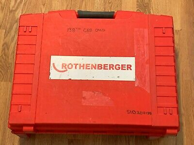 Rothenberger 16101 Ropress Cordless Press Tool Package with 6 jaws + extra batt.