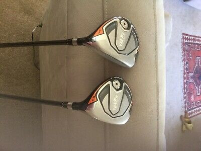 Honma TW747 5 and 3 Wood Golf Clubs. Very good condition
