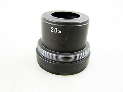 Wild 20X Screw In Magnifier Objective Magnifying Optic