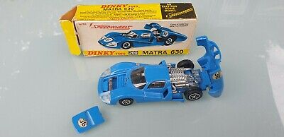 Dinky Toys 200 Matra 630 in blue