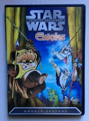 Star Wars Animated Adventures - Ewoks Double Feature (DVD, 2004)