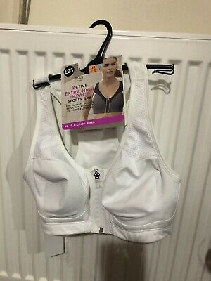 BNWT M&S Active Extra High Impact Sports Bra Size 32C