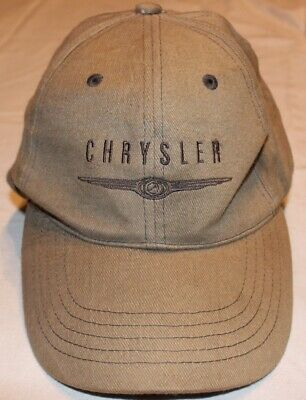 Chrysler Base Cap Kappe Mütze  Oliv