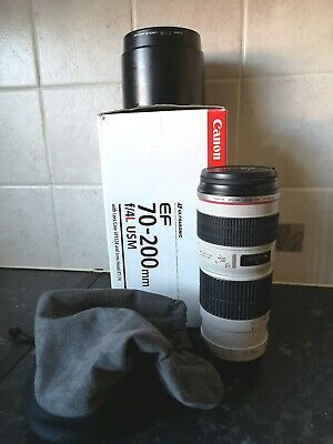 Canon EF 70-200mm f/4 L USM Lens in excellent Condition.