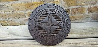 """ Victorian "" Coal Hole Cover "" Clapham & Camberwell """