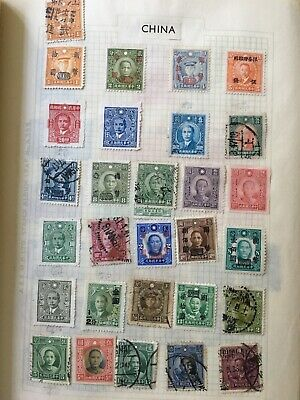 53 Old China / Chinese postage stamps