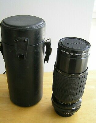 Sigma K2 70 - 210mm  Zoom MACRO Lens ( Minolta MD Fit ) With Case