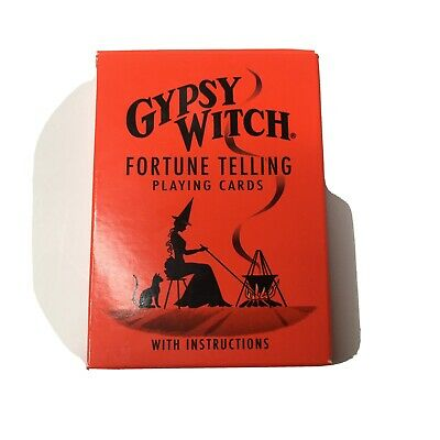 Gypsy Witch Tarot Deck Playing Cards Fortune Telling Cards