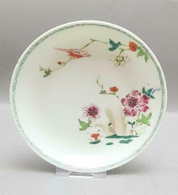 Fine Antique Chinese 18Th Century Qianlong Period Dish/Plate/Saucer
