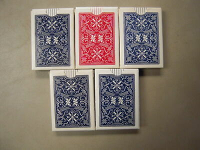 Vintage STUD Playing Cards (USED) 5 Pinochle, 2 Poker (7 Decks)
