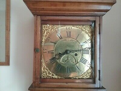 Antique Longcase Grandfather  Clock 18th century