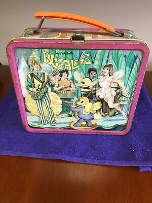 Bugaloos Vintage Lunchbox with NO Thermos