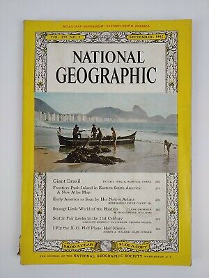 NATIONAL GEOGRAPHIC MAGAZINE September 1962 COLLECTABLE MAGAZINE