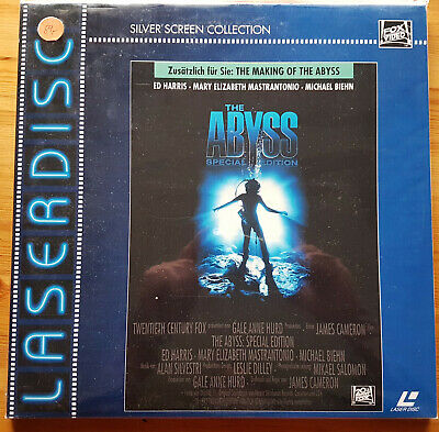 The Abyss LD Laserdisc + Making Of Silver Screen Collection 2 Discs