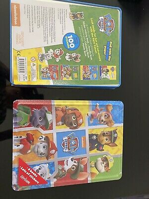 Paw Patrol Colouring/sticker Activity Tin....lots To Do
