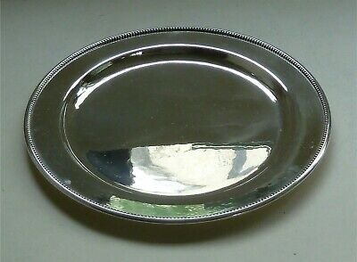 Georg Jensen: Vintage Sterling Silver Tray / Plate No 210B