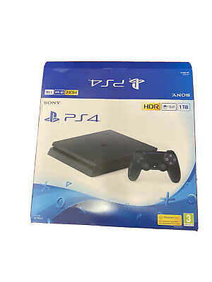 PlayStation PS4 Black 1TB (EMPTY BOX ONLY)