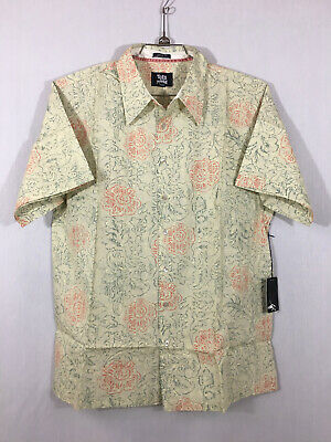 Toes on the Nose - Cloudbreak Woven S/S shirt - M's L - Khaki - New with Tags