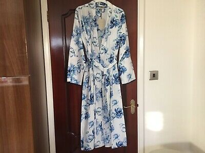 John Lewis Cyberjammies Nora Rose Thea Floral Dressing Gown  Size Uk10