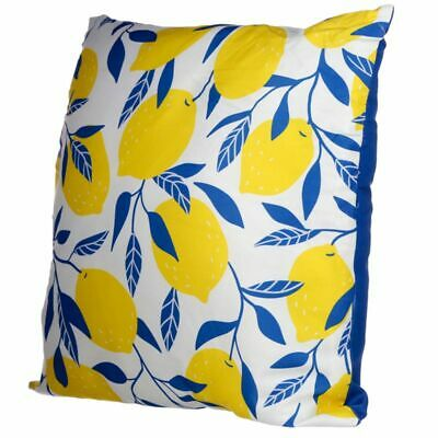 New Lemons Outdoor Tufted Floor Pillow Cushion Coral Opalhouse With Scotchguard