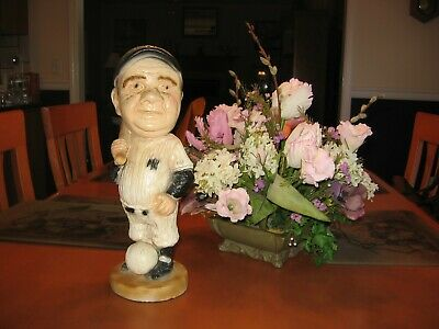"""Vintage Esco Babe Ruth Statue 15"""" Tall Tuscany Like Nice Condition!!!"""