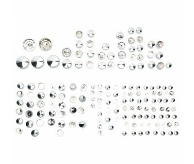 Harley Davidson Fxd 06/17 - Kit Caches Boulons Chromes Deluxe -2401-0689