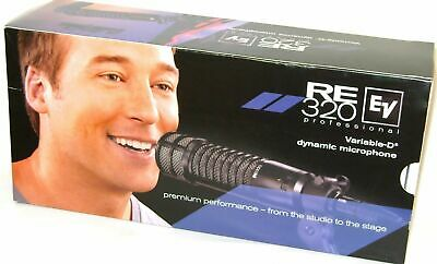 Electro-Voice RE320 Broadcast Microphone EV RE-320 Mic Sounds Great!