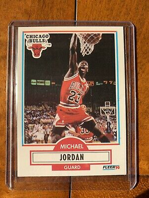 Michael Jordan 1990 🔥Fleer #26 (PSA 9?)🏀 HOF GOAT The Last Dance  BULLS 💸📈💰