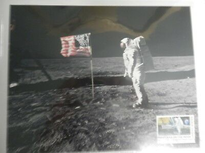 Apollo 11 Astronauts {3} Photo's  Armstrong - Collins - Aldrin With Stamps Movie