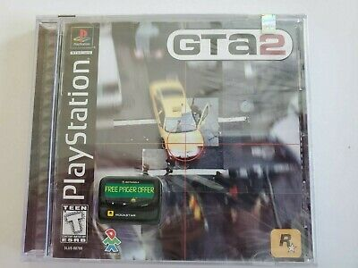 Sony Playstation 1 PS1 GTA2 Grand Theft Auto 2 Video Game Brand New Sealed