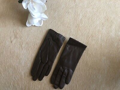 Fownes Women's Leather Gloves Brown Size 7 Antron Lined WPL 9522 **NEW** ❤️💃🏼