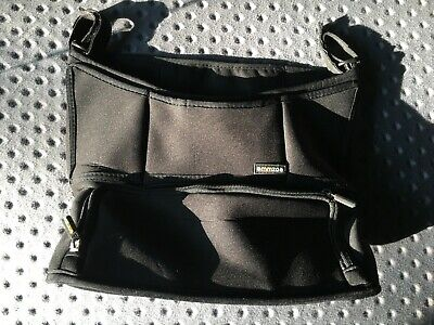 Emmzoe Universal Fit Parent Stroller Organizer with Insulated Compartment