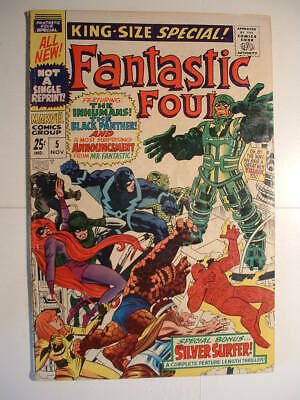 Fantastic Four King-Size Special #5 - Marvel 1967 - 1st Solo Silver Surfer Story