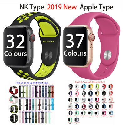 Silicone Sport Wrist Band Strap Replace For Apple Watch iWatch Series1-5 All Lot