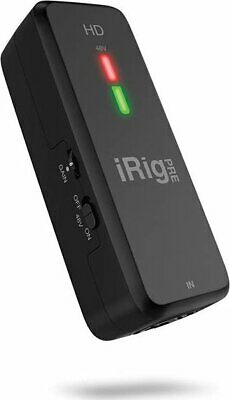 iRig Pre HD: High Definition Microphone Interface for iPhone, iPad and Mac