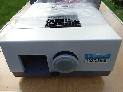 Voigtlander Perkeo 150W Slide Projector + Remote, Tray, instructions, Boxed.