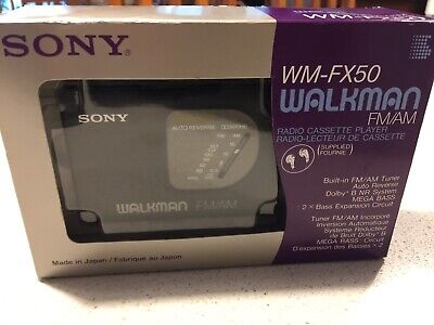 Brand new Vintage Sony Walkman - WM-FX50