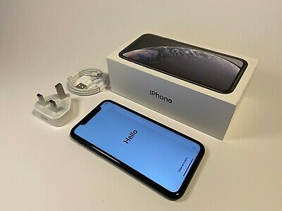 Apple iPhone XR - 128GB - Black (Unlocked) - Excellent Condition