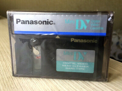Panasonic Mini DV Digital Video Head Cleaner Tape Cleaning Cassette Original New
