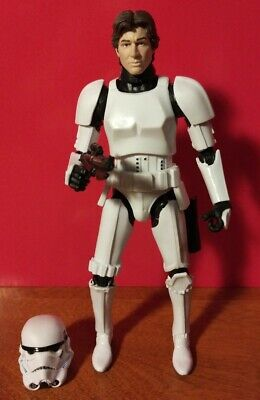 Star Wars Black Series 6 Inch # 9 Han Solo Stormtrooper Disguise